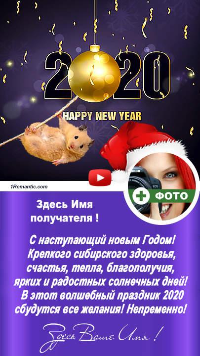 МУЗЫКАЛЬНАЯ ОТКРЫТКА С НОВЫМ ГОДОМ - New !