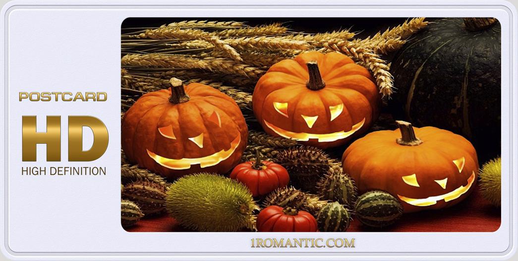 Хэллоуин Открытки